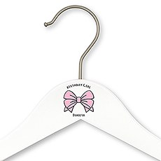 Personalized Wooden Birthday Clothes Hanger- Birthday Girl