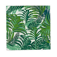 Tropical Leaves Cocktail Napkins - Small