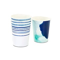 Aqueous Paper Party Cups - 9 oz.