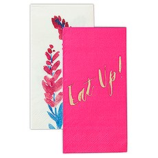 Bright Florals Duo Paper Napkins