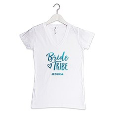 Personalized Bride Tribe T-Shirt