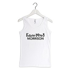Personalized Bride Tank Top - Future Mrs.