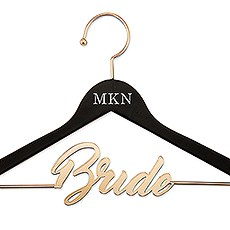 Personalized Wooden Bride Hanger