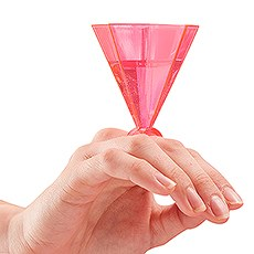 Ring Party Shot Glasses - Hot Pink - Set of 6