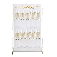 Prosecco Bubbly Drinks Wall Holder - Bubbles