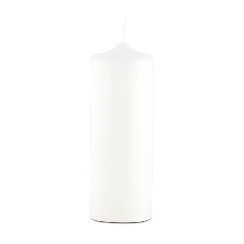 Round Pillar Candles - Thick Medium
