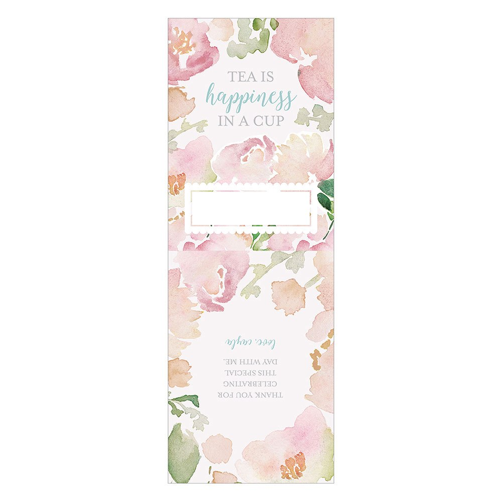Garden Party Favor Wrap