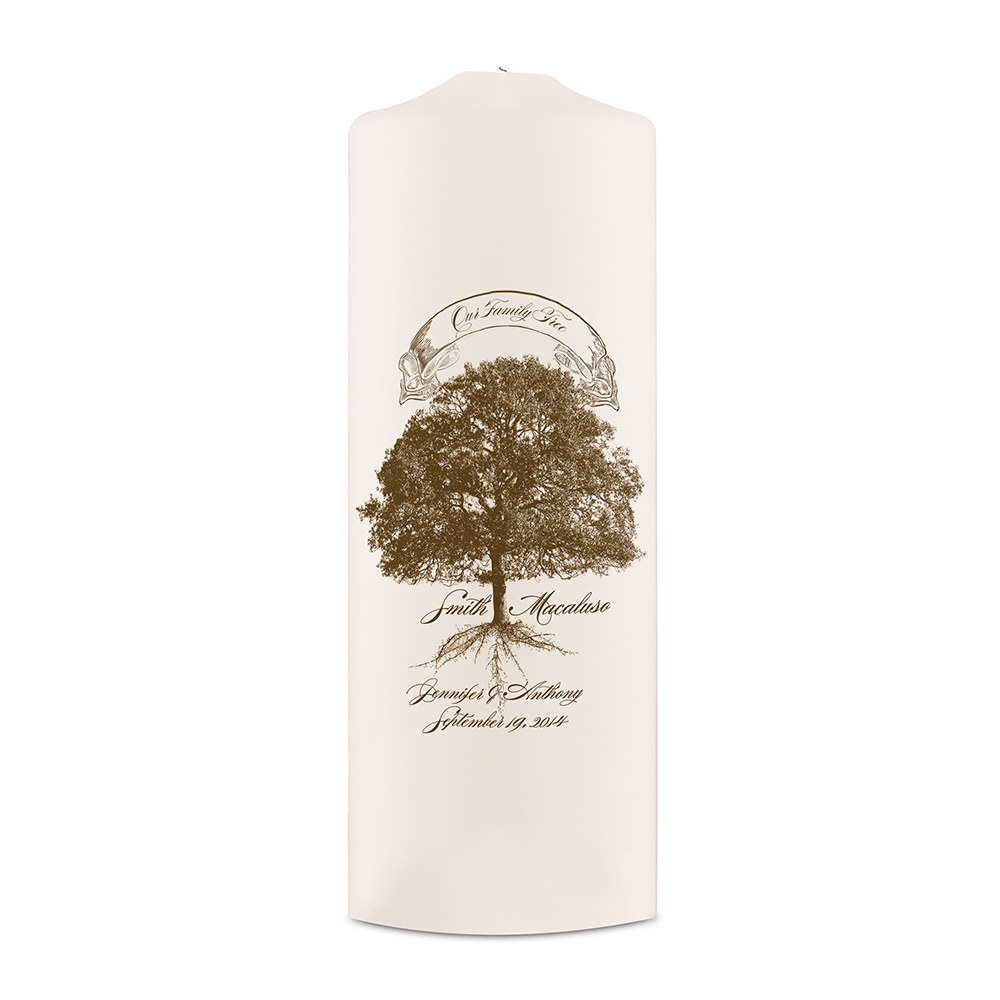 Family Tree Unity Candle