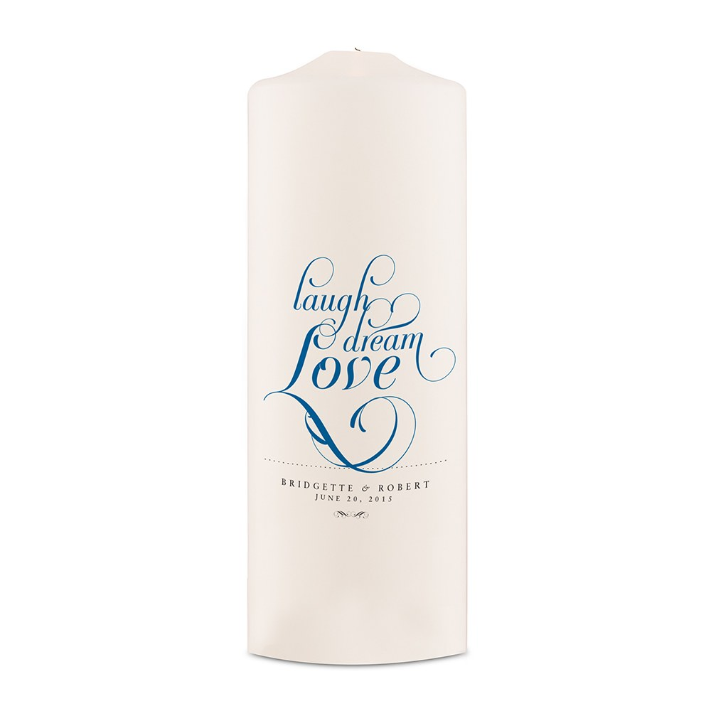 Expressions Wedding White Unity Candle