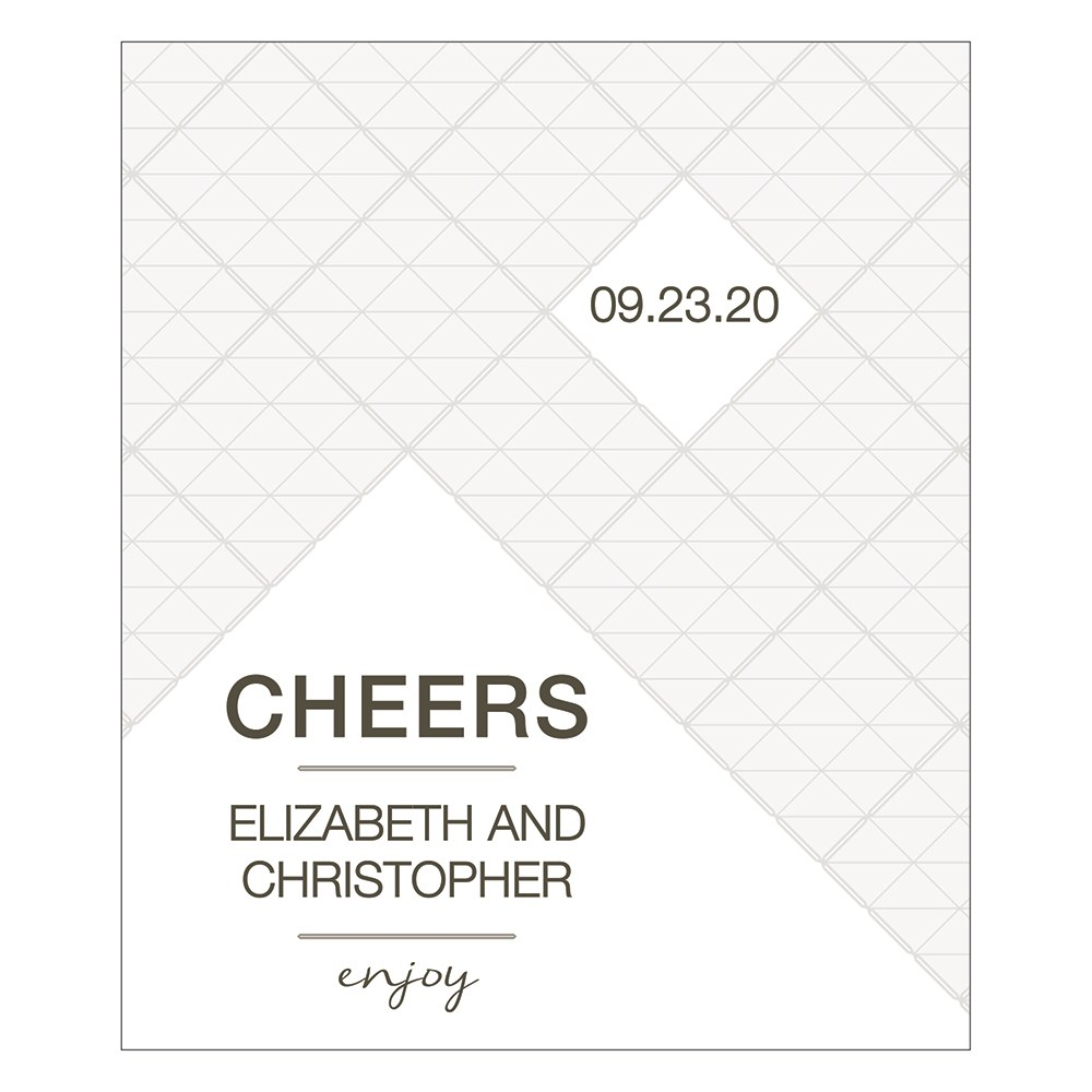 City Style Small Rectangular Label