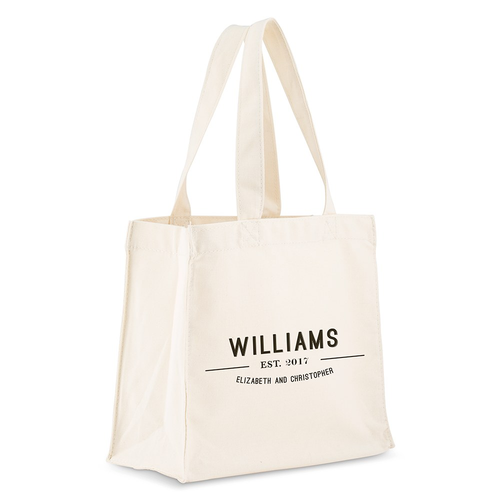 Bistro Bliss Personalized Tote Bag