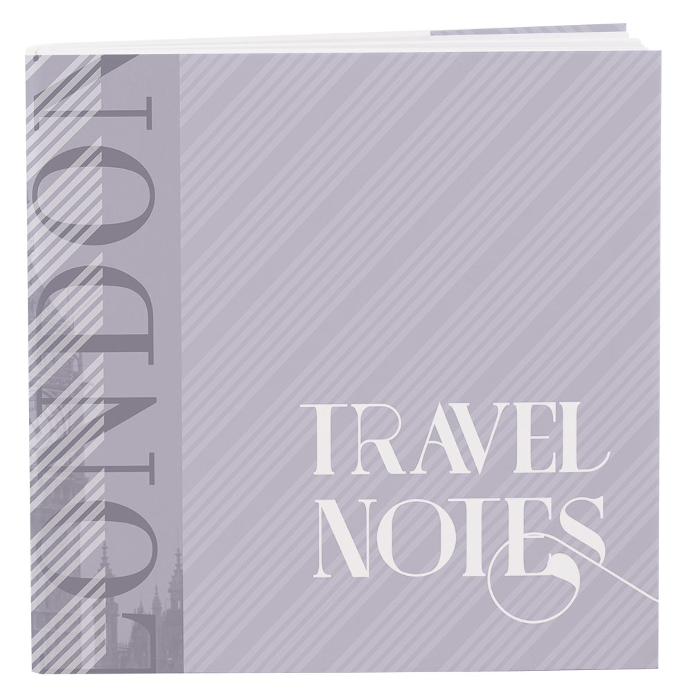 Notepad Favor with Personalized Vintage Travel Cover   Assortment