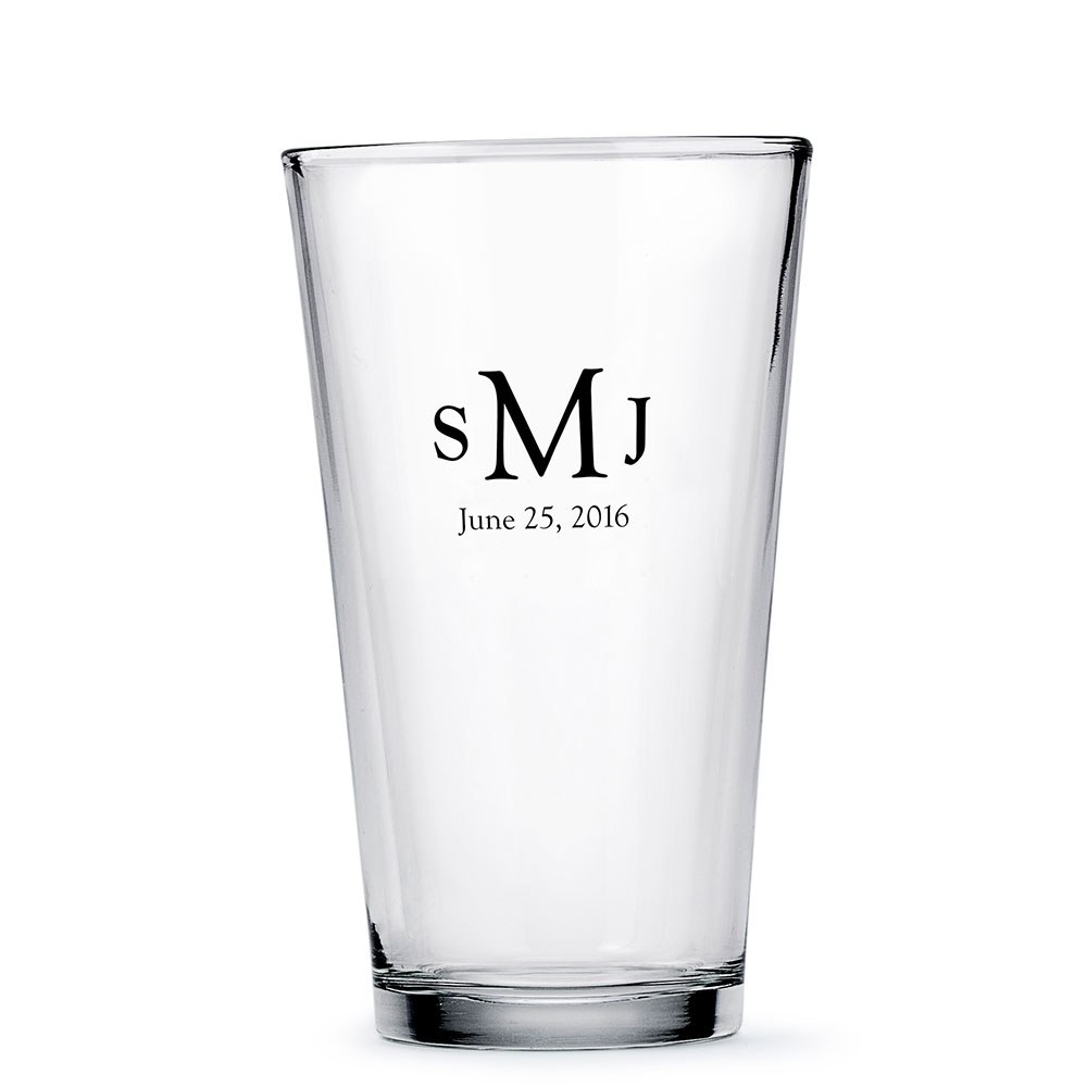 Pint Glass Printed