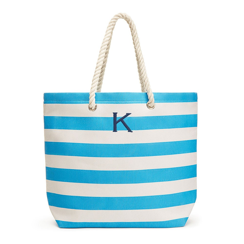 Extra Large Custom Tote Bag - Sky Blue