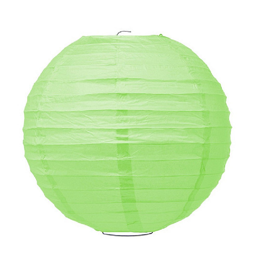 Large Paper Lantern Grass Green