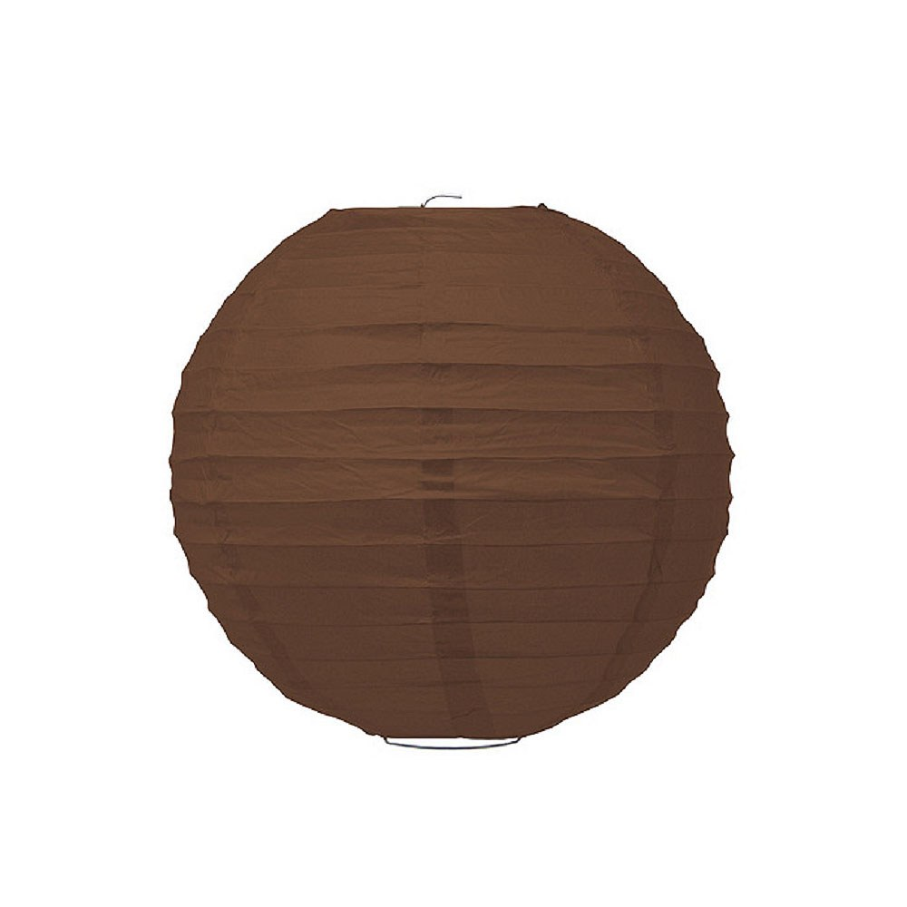 Small Paper Lantern Brown