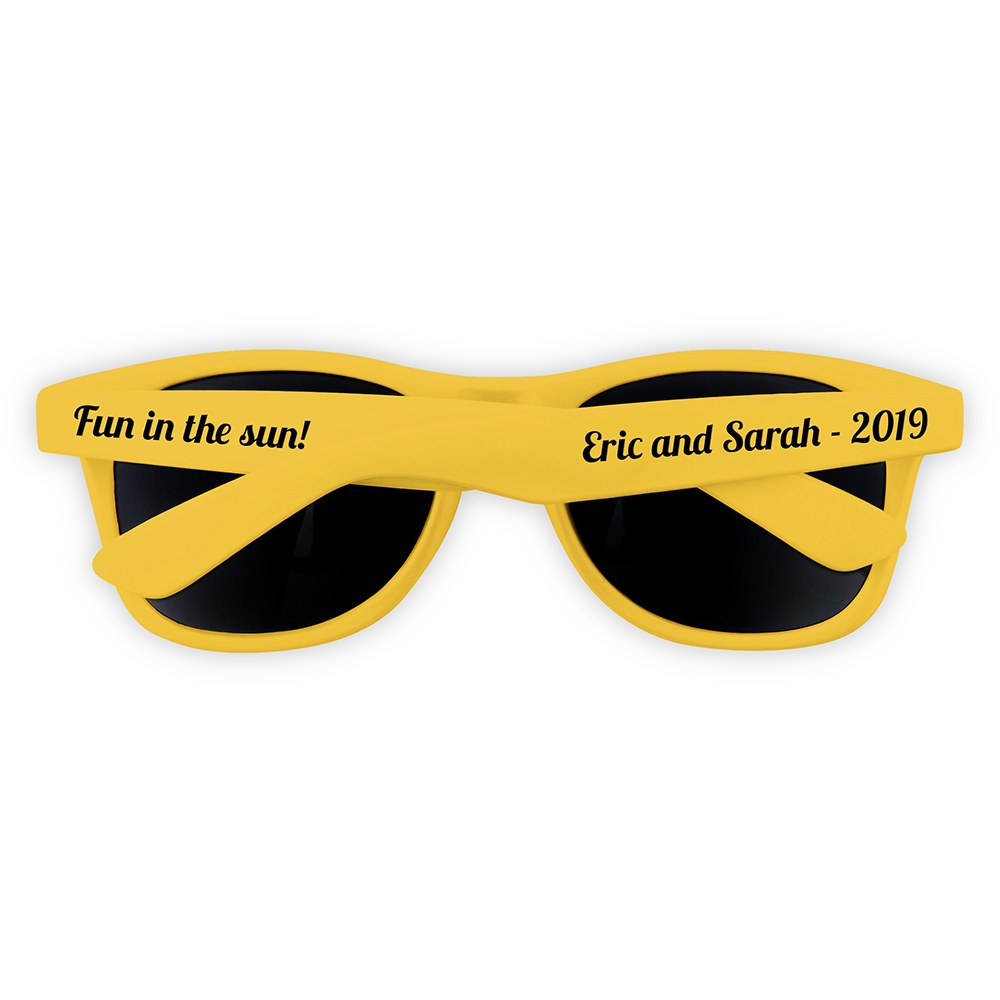 Fun Shades Sunglasses - Yellow