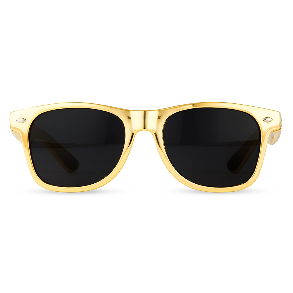 Custom Sunglasses | Personalized Metallic Gold Sunglasses - The Knot Shop