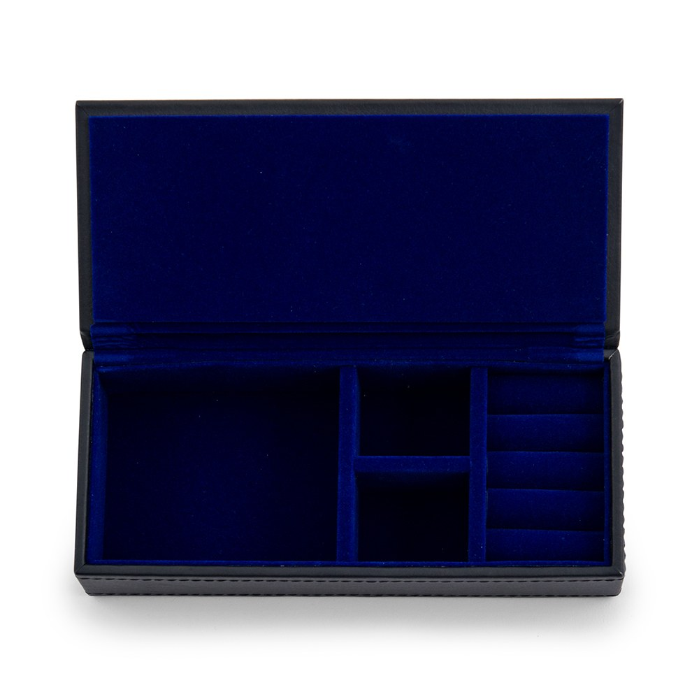 Personalized Faux Leather Jewelry Box- Custom Emboss