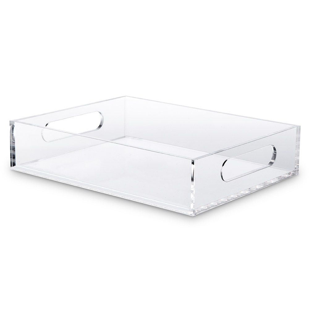 Clear Acrylic Rectangular Serving Tray