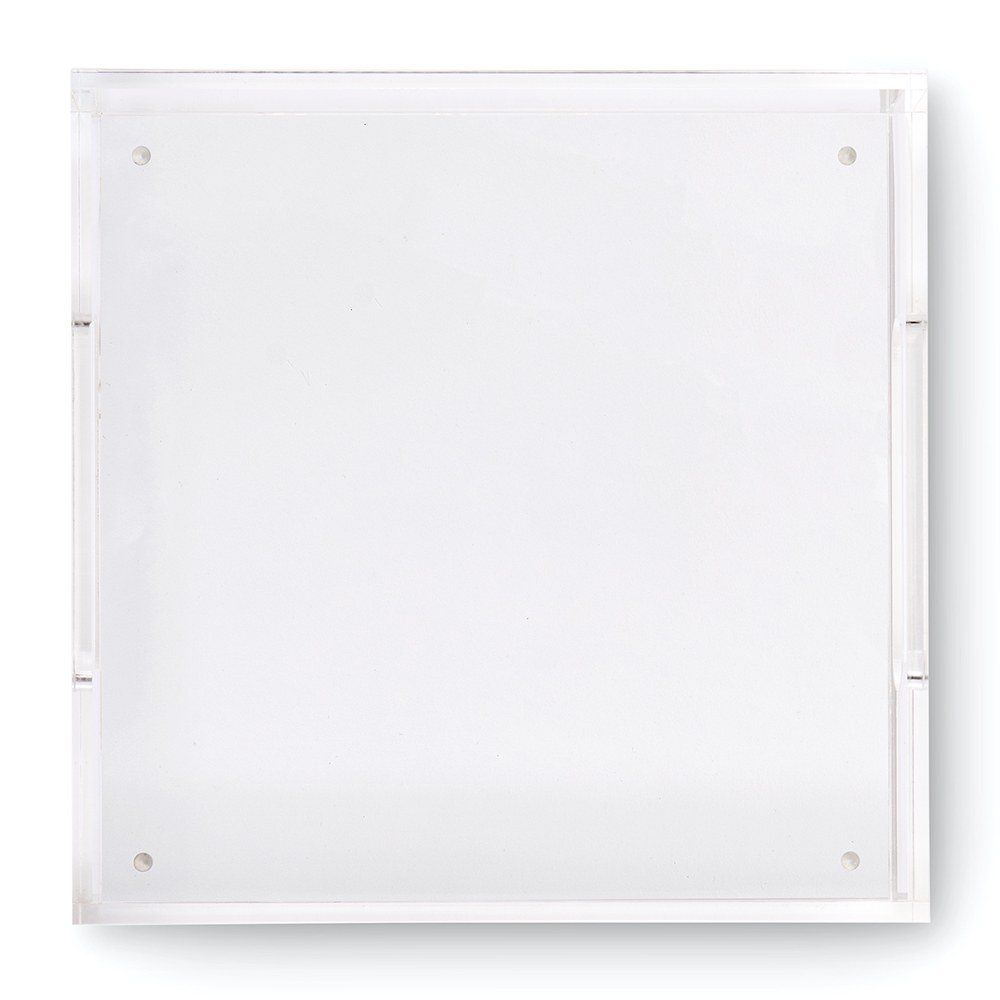 Square Acrylic Tray