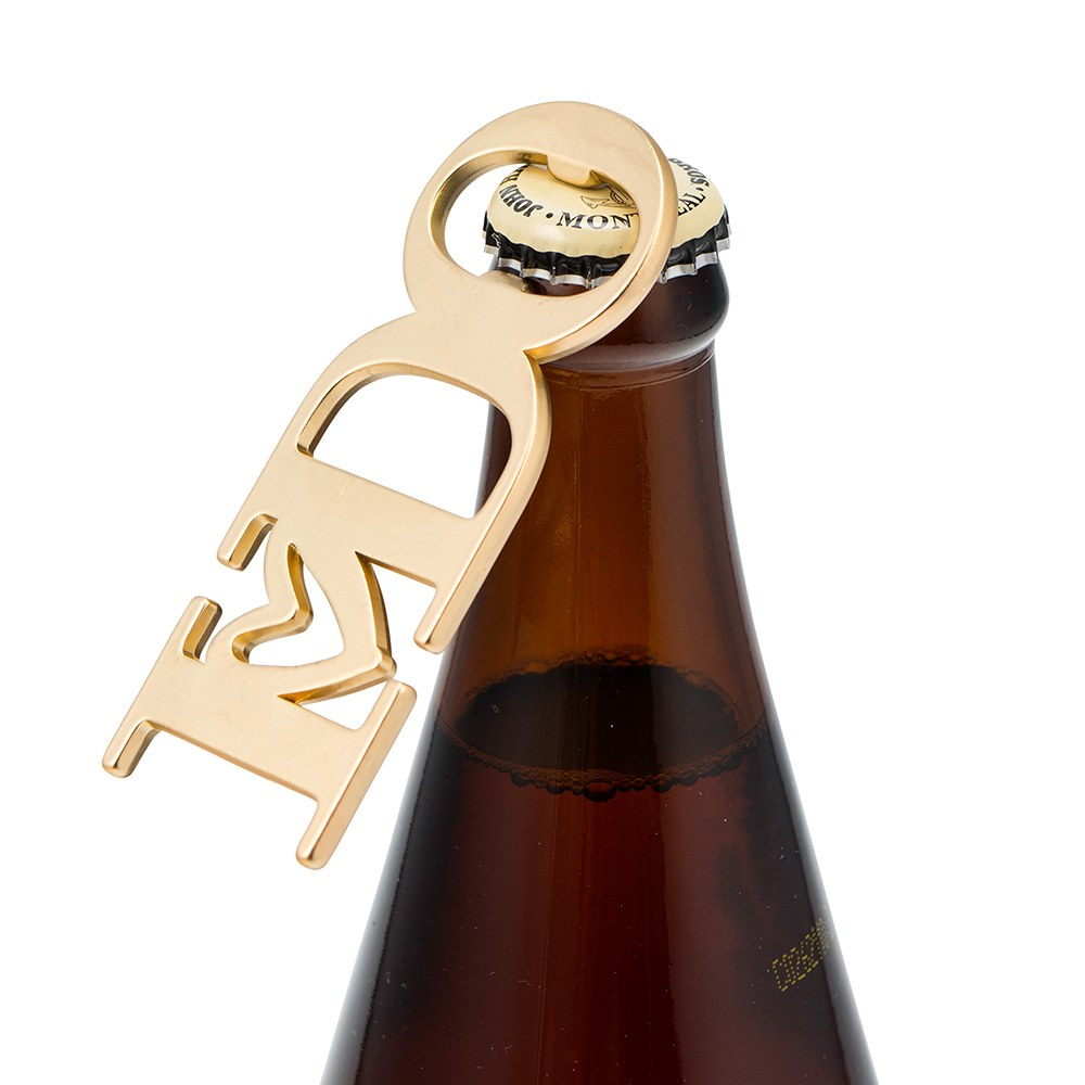 Gold I DO Bottle Opener Favor
