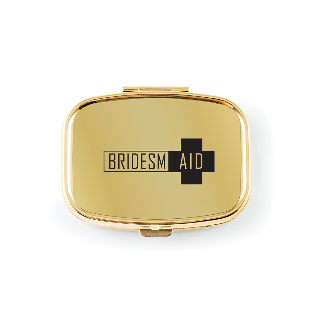 Small Gold Wedding Emergency Kits - Bridesmaid First Aid