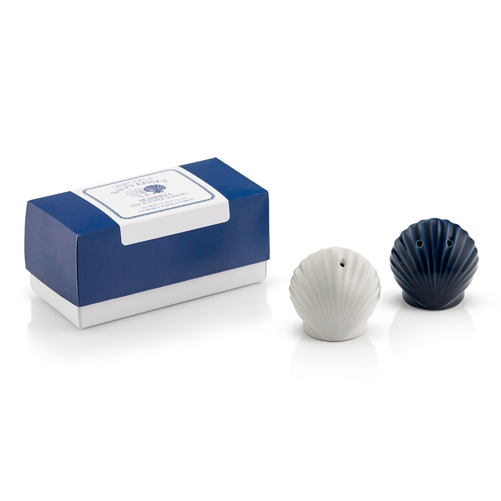 Seashell Salt & Pepper Shaker Set