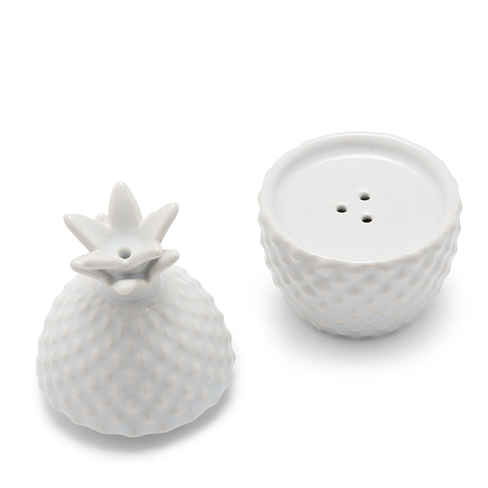 Stacked Pineapple Salt & Pepper Shaker Set