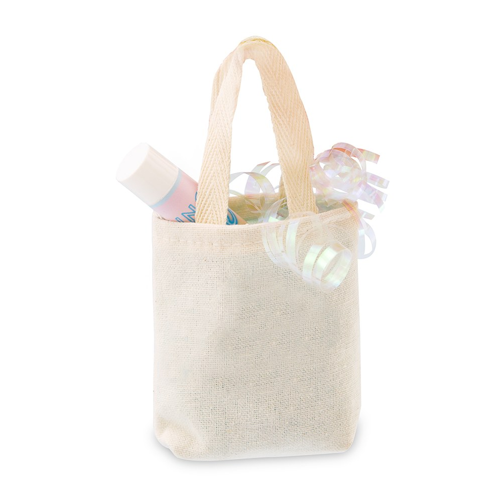 Tiny Tote Cotton Favor Bag