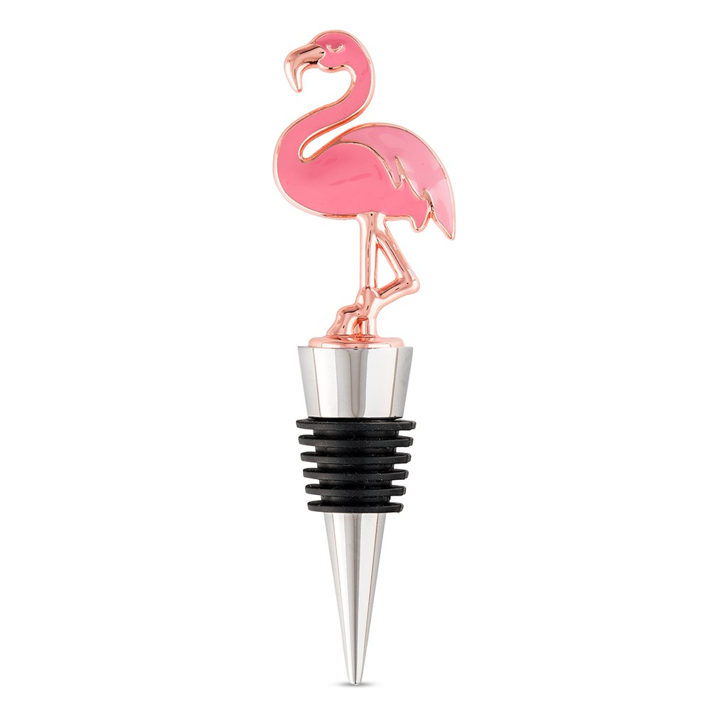 Pink Flamingo Bottle Stopper