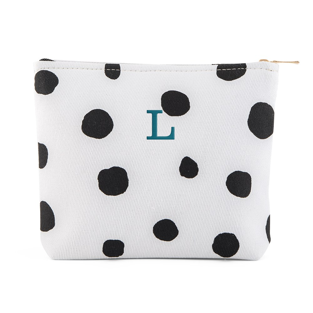 Dalmatian Dot Small Zipper Pouch