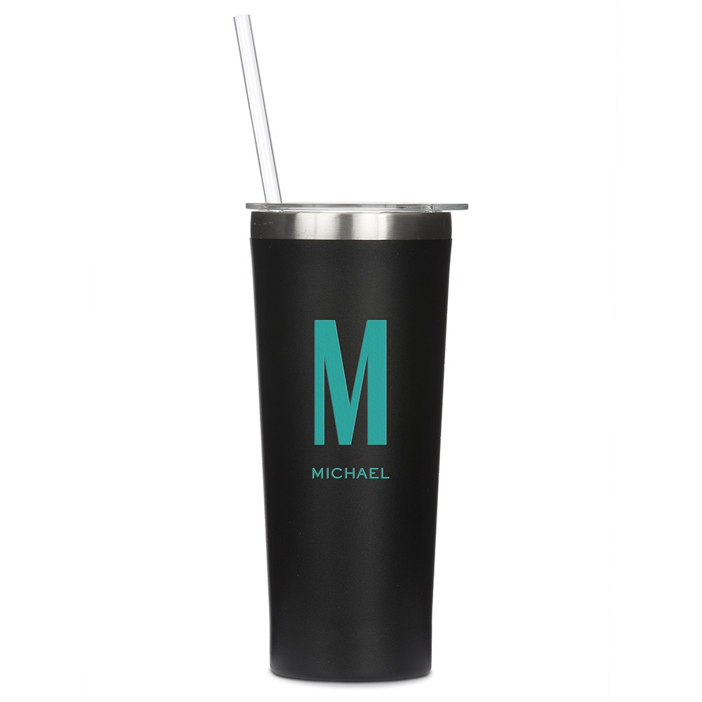 Stainless Steel Tumbler - Custom Monogram