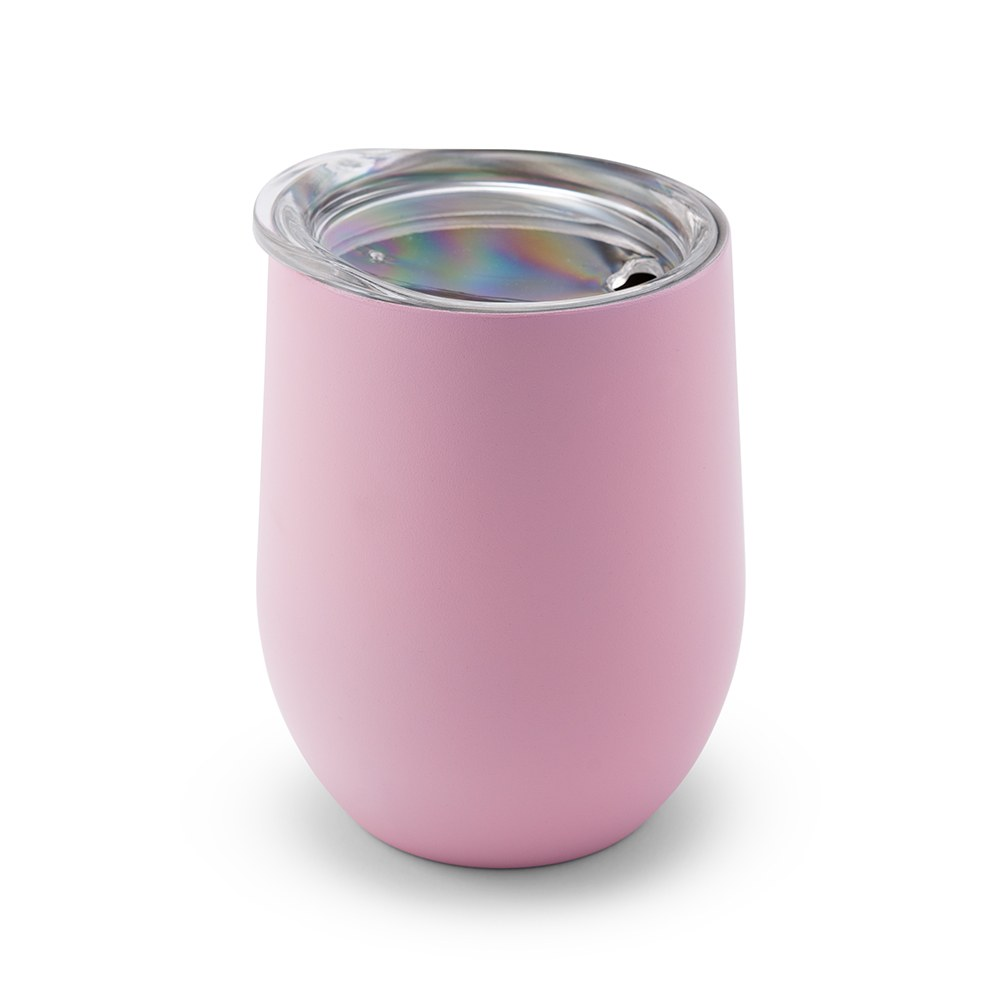 Stemless Travel Tumbler - Light Pink