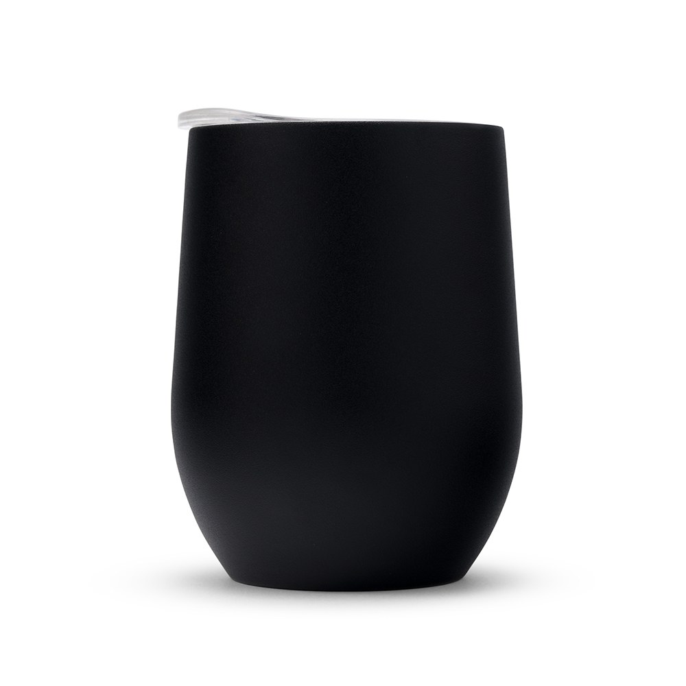 Stemless Travel Tumbler - Black