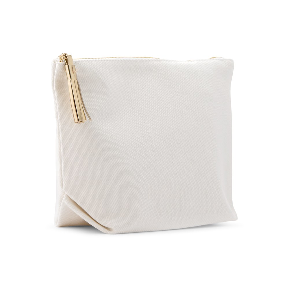 Large Canvas Makeup And Toiletry Bag For Women