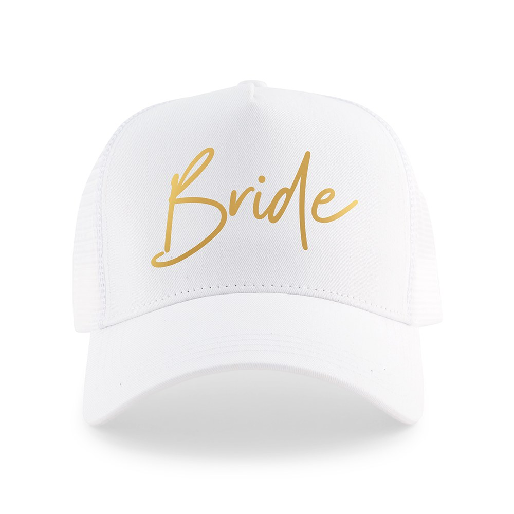 Wedding Party Snapback Trucker Hats - Bride