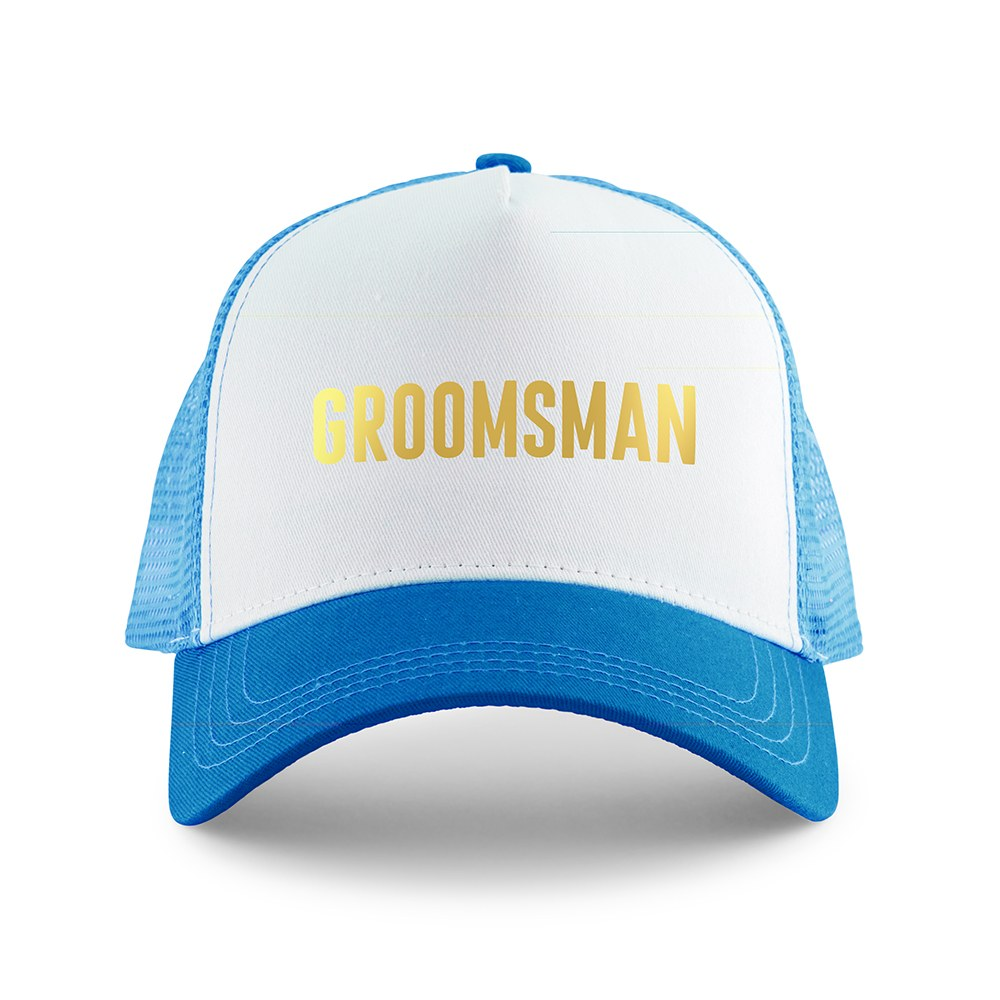 Wedding Party Snapback Trucker Hats - Groomsman