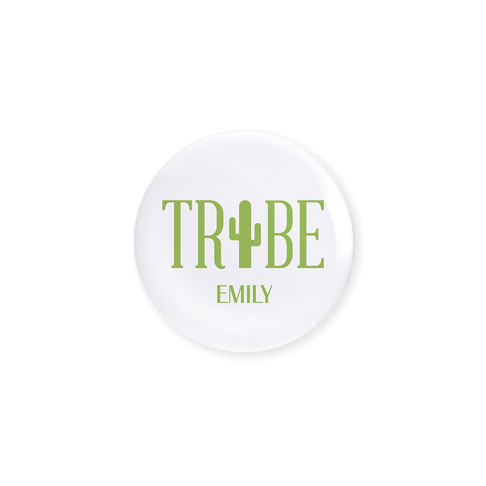 Personalized Bridal Party Wedding Pins - Fiesta Tribe