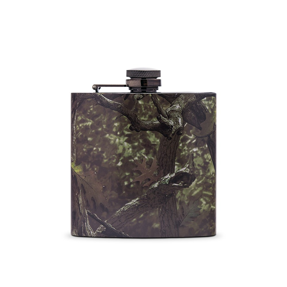Camo Hip Flask Wedding Gift