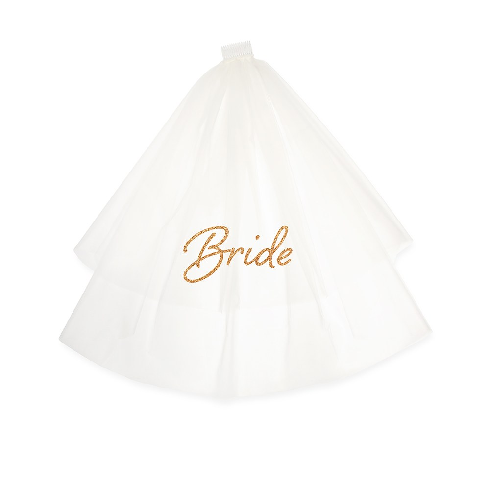 Bachelorette Party Bridal Veil - Bride
