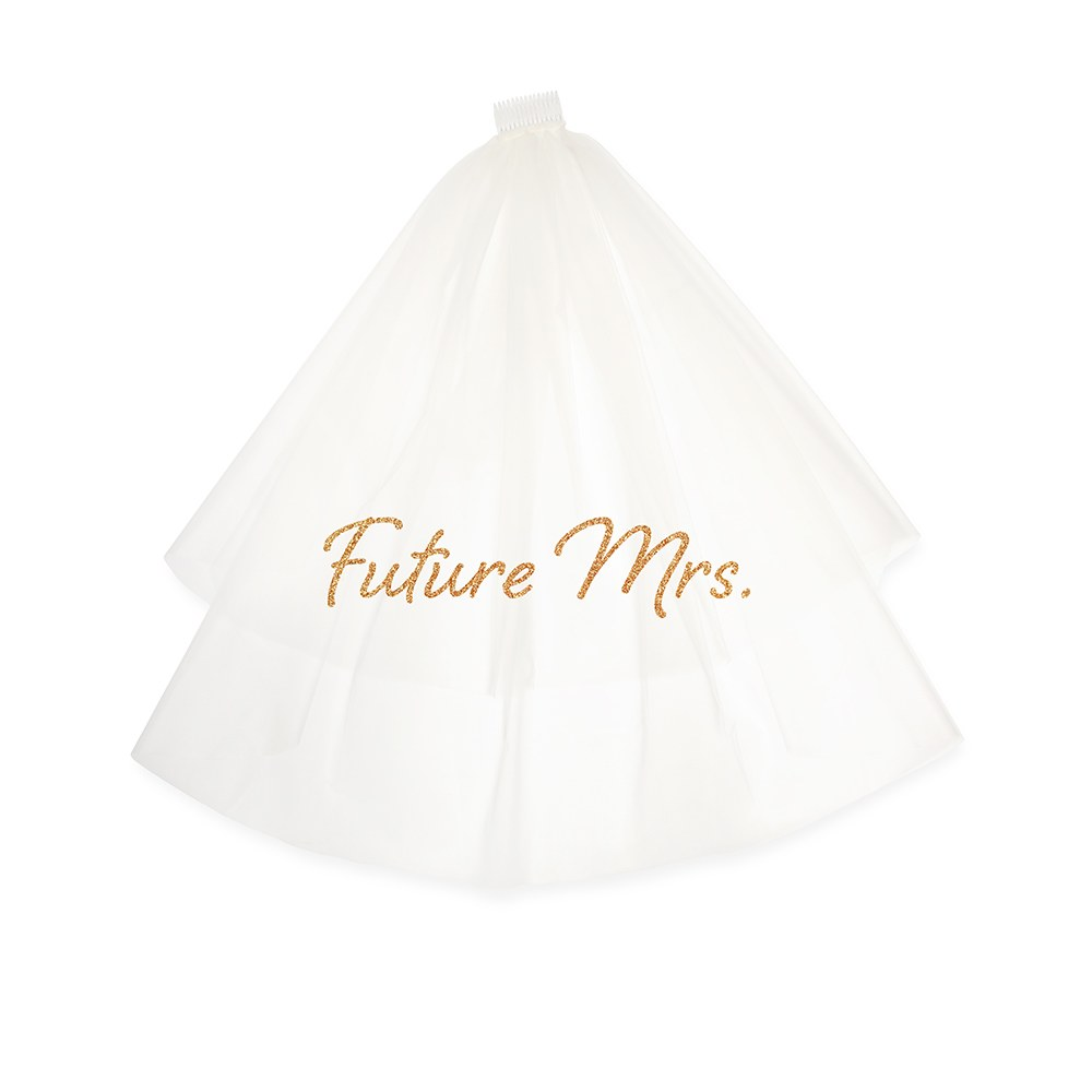 Bachelorette Party Bridal Veil - Future Mrs.