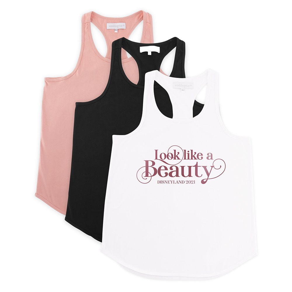 Personalized Bridal Party Wedding Tank Top - Look Like A Beauty
