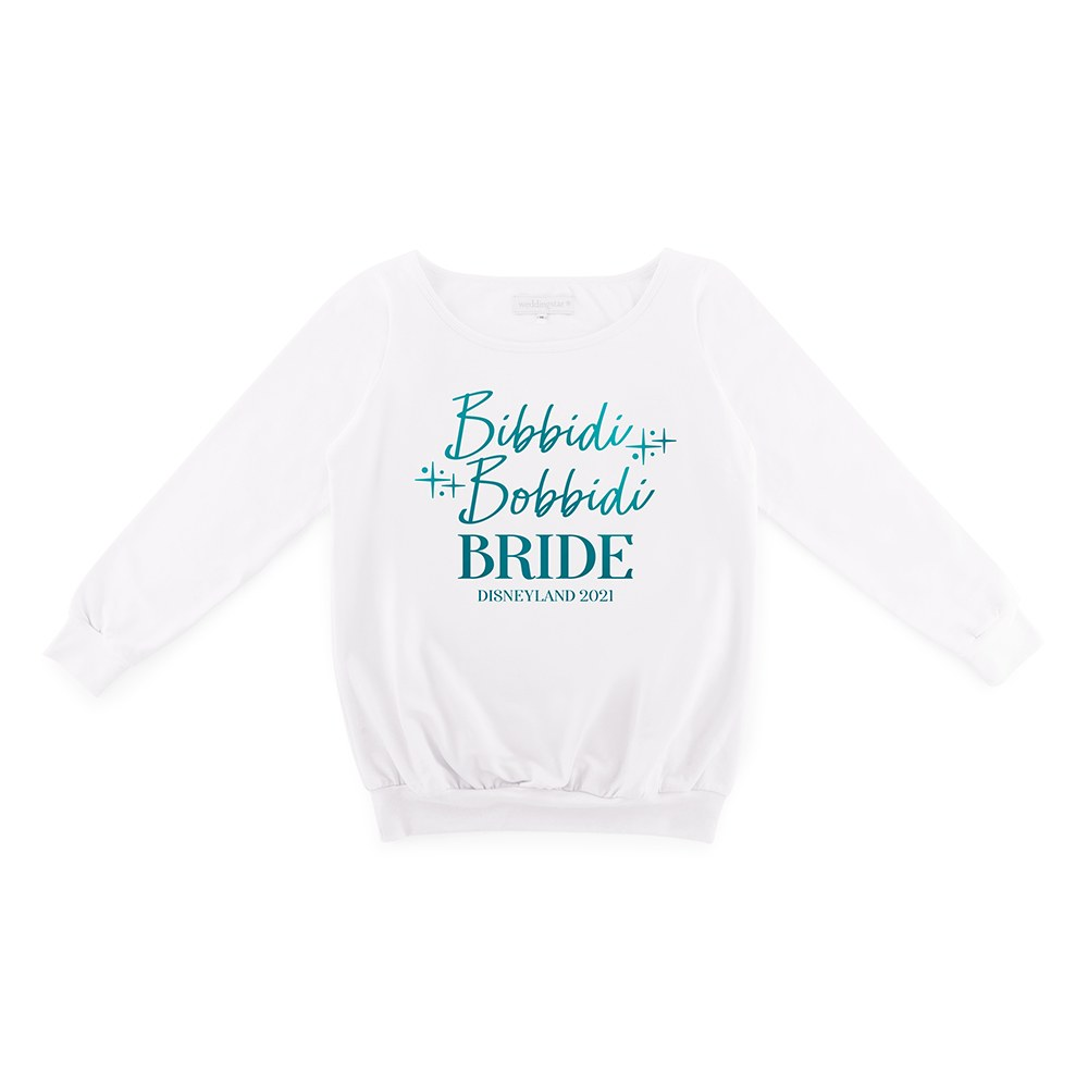 Personalized Bridal Party Wedding Sweater - Bibbidi Bobbidi Bride