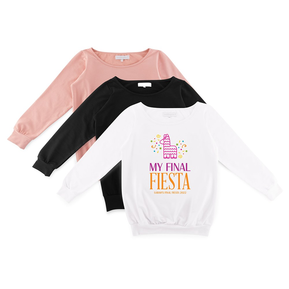 Personalized Bridal Party Wedding Sweater - Final Fiesta