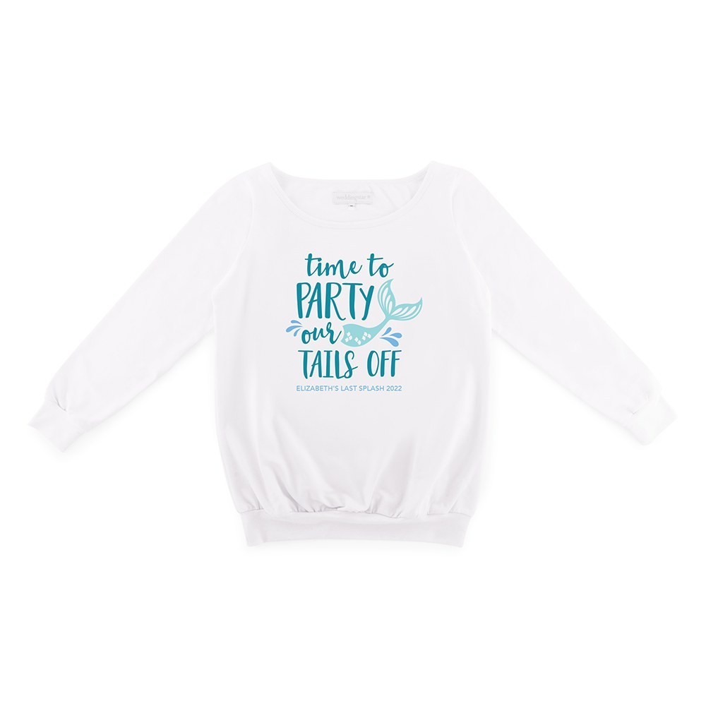 Personalized Bridal Party Wedding Sweater - Party Our Tails Off
