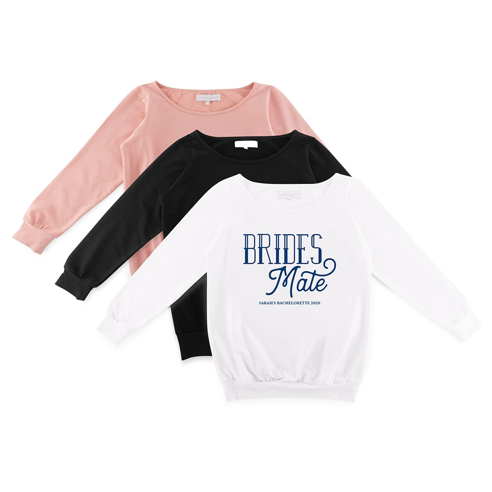 Personalized Bridal Party Wedding Sweater - Brides Mate