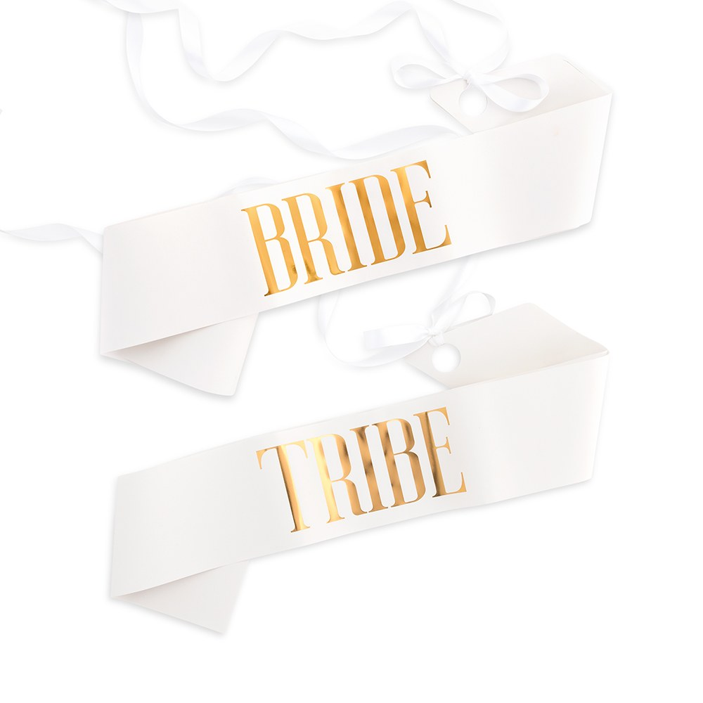 Paper Bachelorette Party Sash - Bridal Party