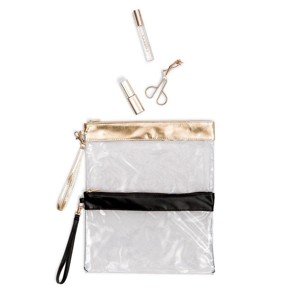 Large Clear Plastic Makeup Bag
