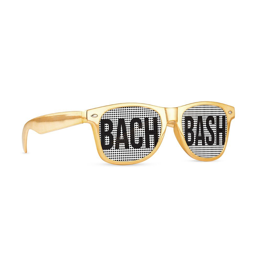 Wedding Party Pinhole Sunglasses - Bach Bash
